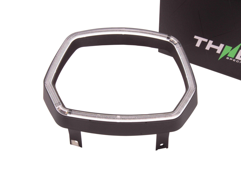 Rand voor koplamp met LED-tube rand incl. alle bevestigingsmaterialen| Vespa Sprint