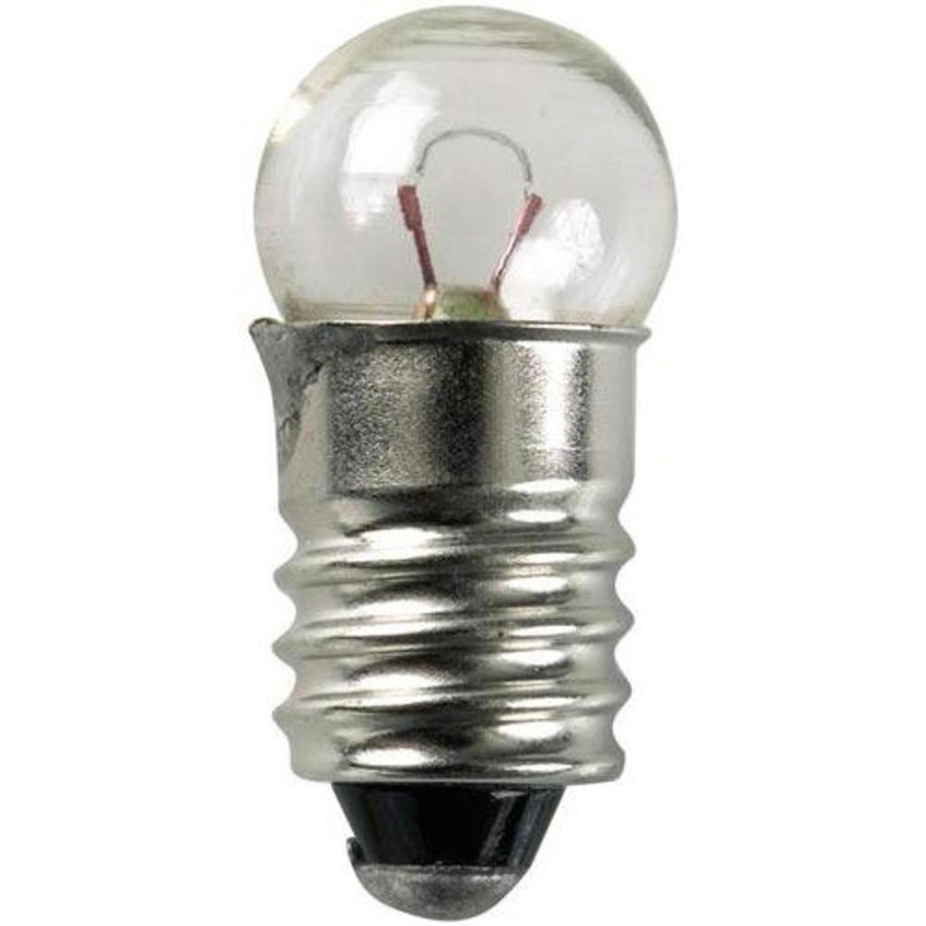 Lamp Bosma 6V - 10W E10 | Schroef