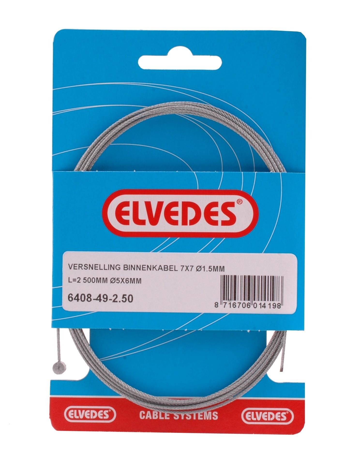 Gaskabel Binnen Elvedes Ton (6408/49-2.50)