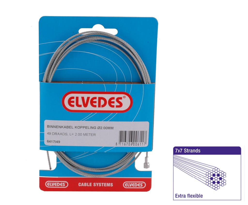Koppelingskabel Binnen Elvedes Peer 49-draads (6411-49)