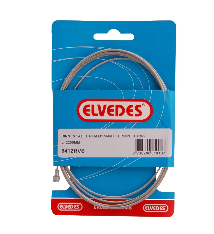 Koppelingskabel Binnen Elvedes Peer RVS (6412RVS)