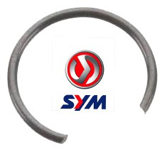 Pistonpenclip OEM 10mm | Sym / Peugeot 4T